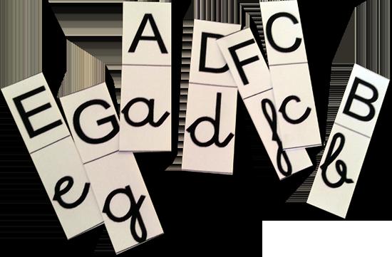 Resultat d'imatges de lletres