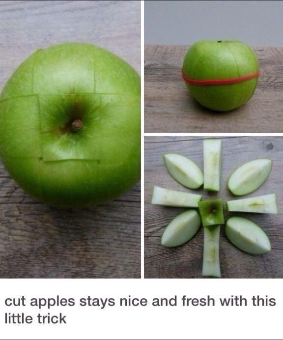 Znalezione obrazy dla zapytania fruit apple hacks