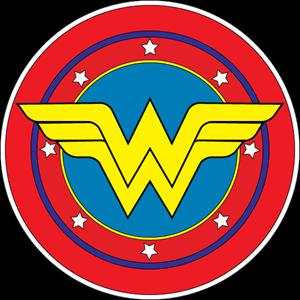 Wonder Woman Logo Vector Ai Free Download Wonder Woman Logo Wonder Woman Birthday Wonder Woman Party
