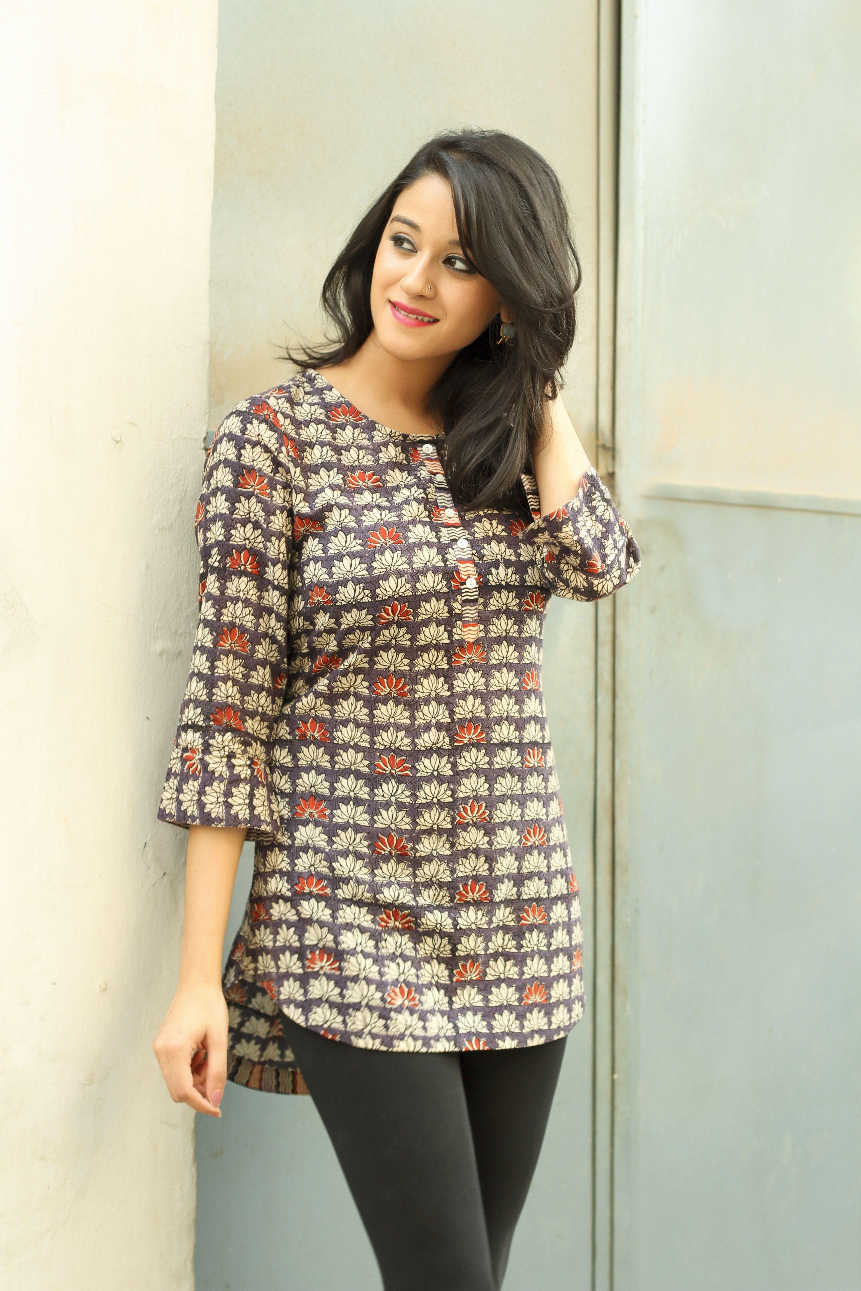 casual #cotton #prints #summers #easy #fashion #women #tunics ...