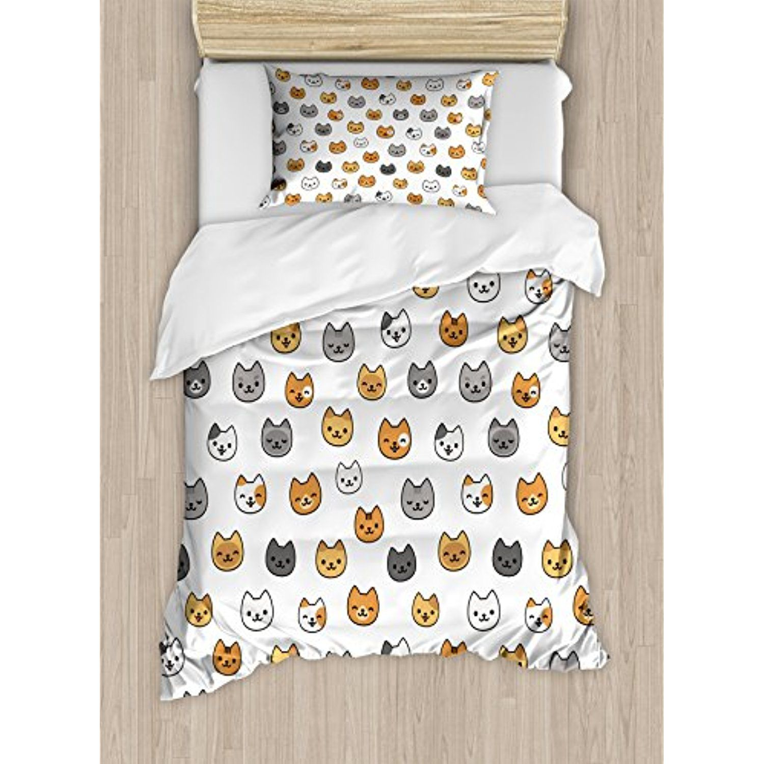 Funny Duvet Covers Nursery Twin Size Duvet Cover Set By Ambesonne Happy Funny
