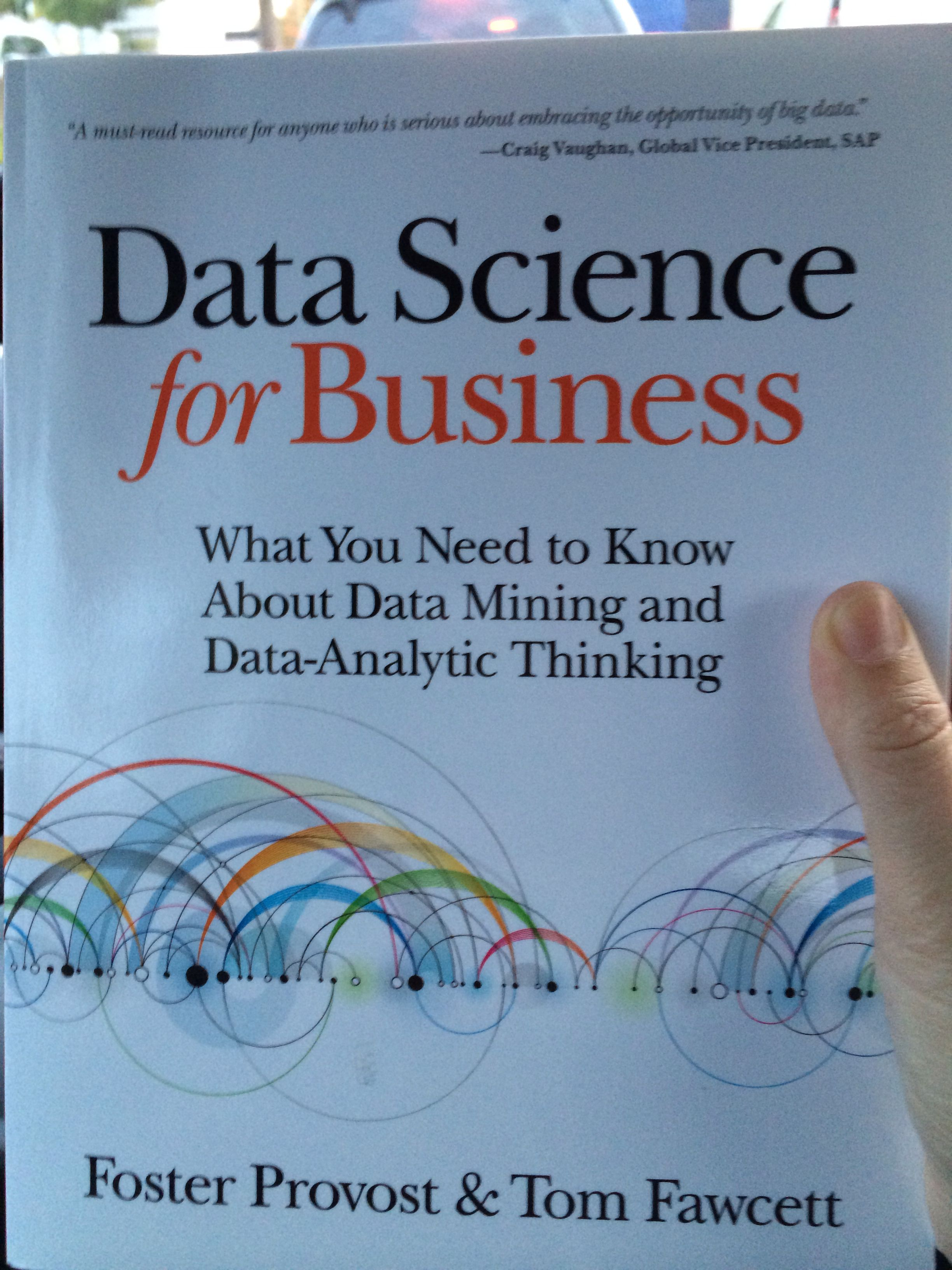 must read  data science for business  bigdata