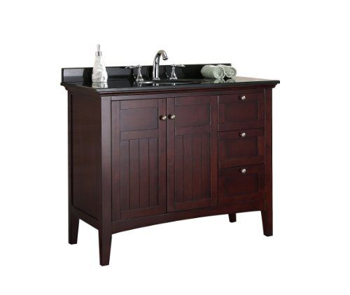 900 Amazon Ove Gavin 42 Bathroom 42 Inch Vanity Ensemble With