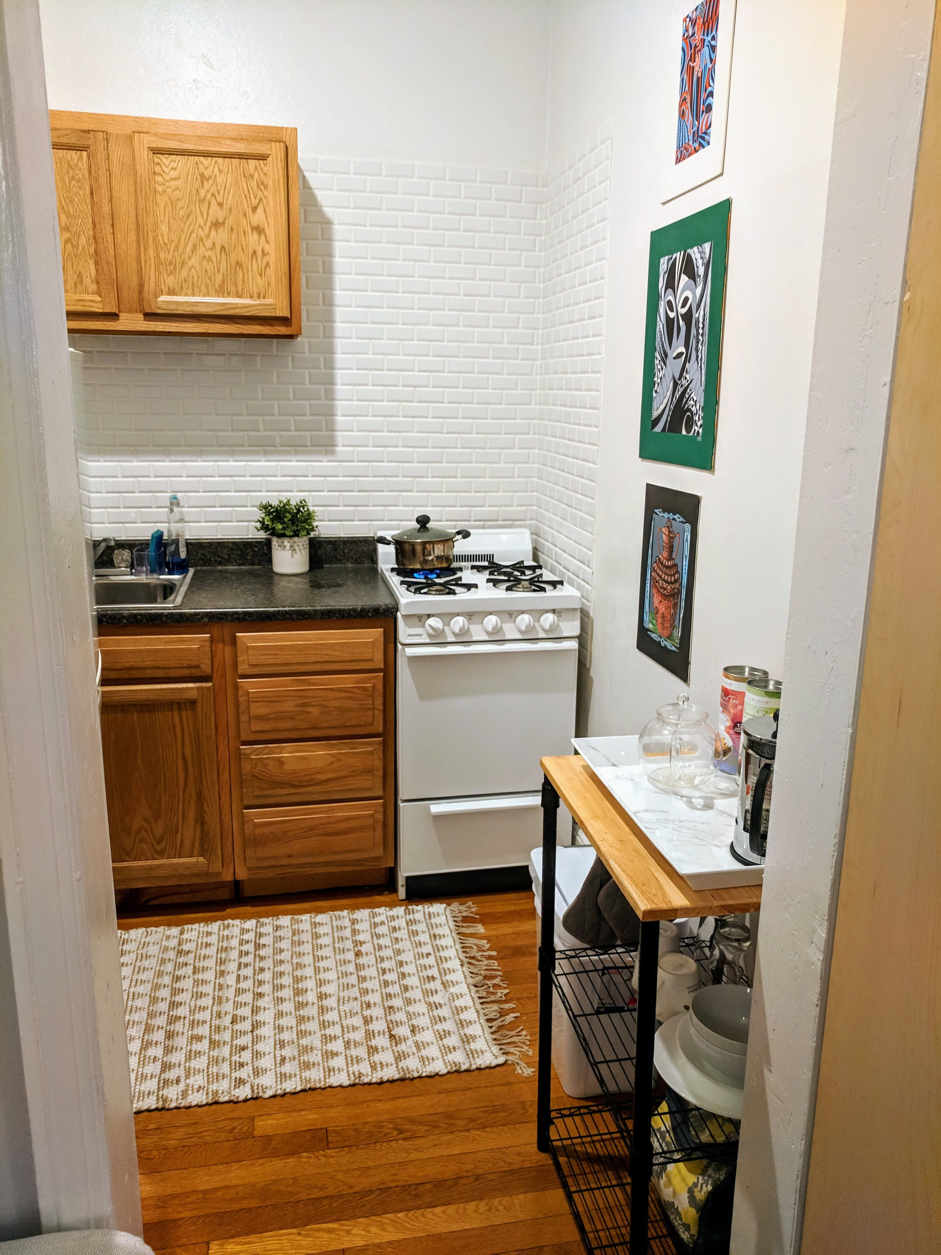 A Teeny Studio Apartment Is Well-Designed and Incredibly ...