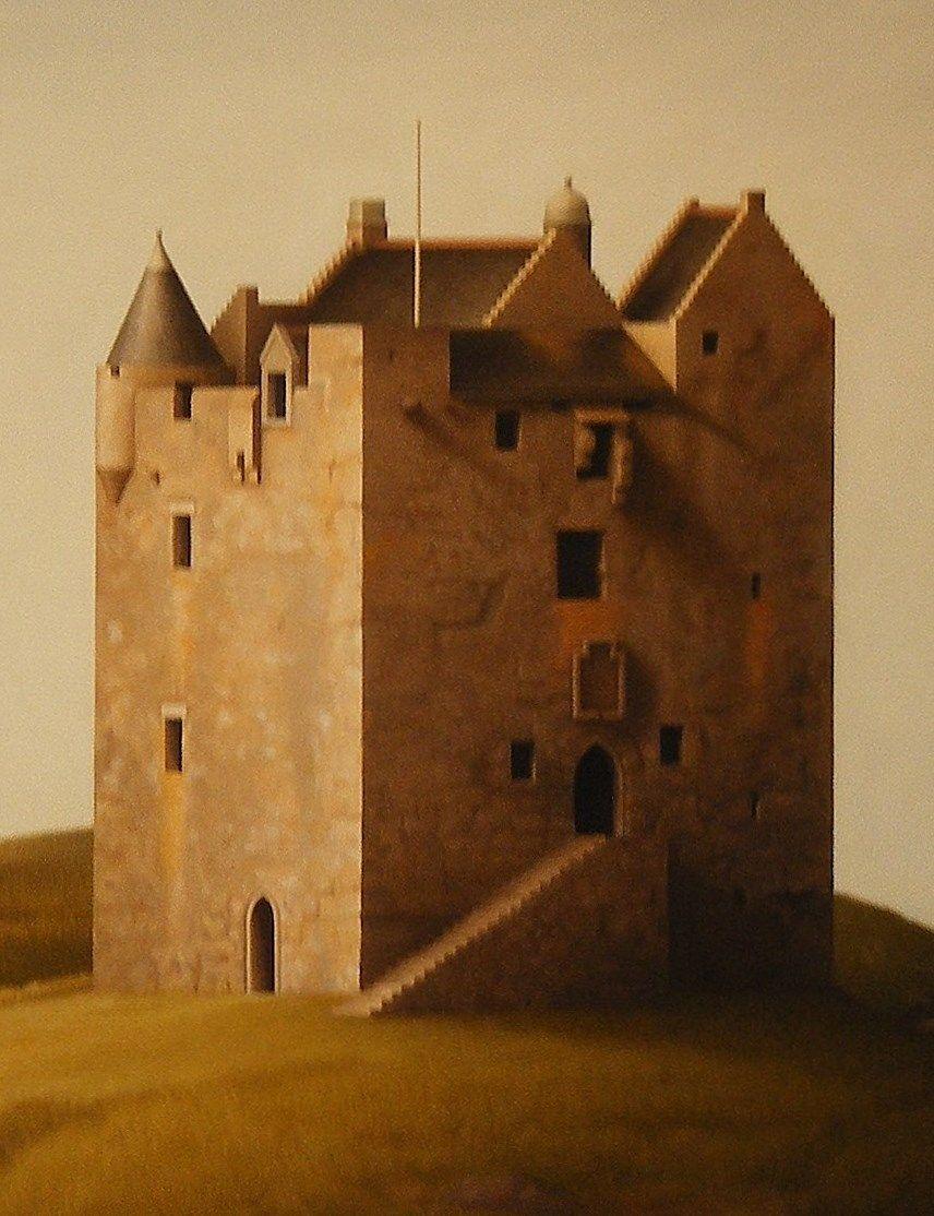 Castle Stalker (detail) 2011 by Renny Tait