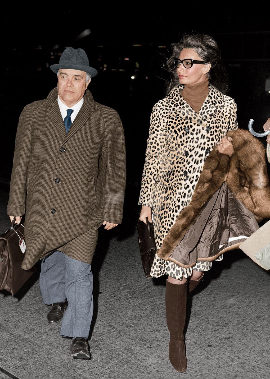 Sophia Loren with husband Carlo Ponti