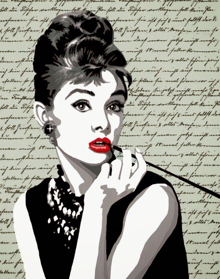 Черно-белый ретро постер