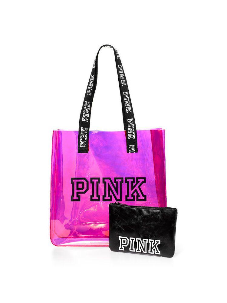 Victorias Secret Wallet Premium Travel Black//Gold