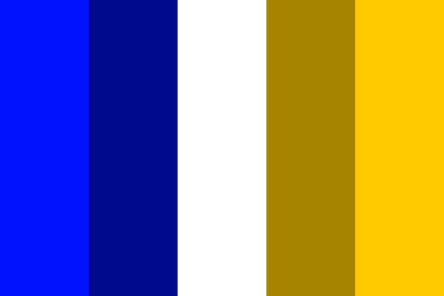 Complementary Colours Blue And Yellow Color Palette Color Palette Yellow Blue Complementary Color Yellow Complementary Color