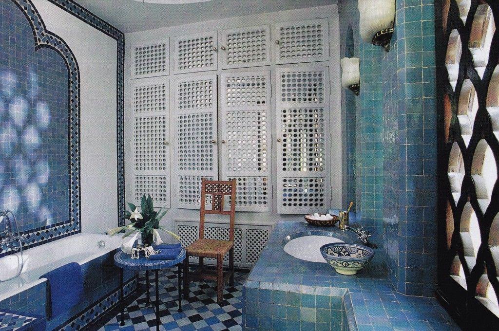 Op vakantie in de badkamer met een mediterrane inrichting ...