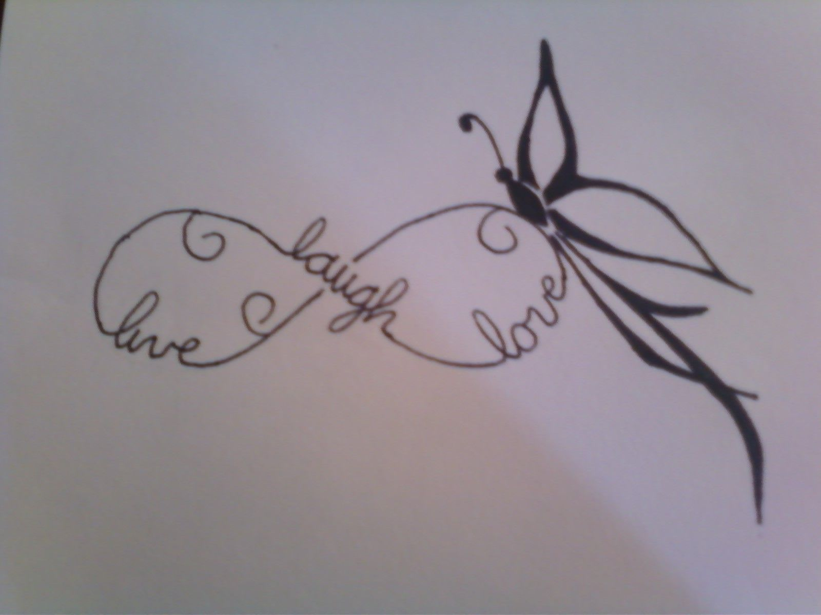 Name tattoo good idea i love the butterfly may want to use that with another tattoo