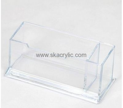 Customized Acrylic Display Holder Clear Plastic Paper Holder Acrylic Business Card Holder Bh 105 Acrylic Display Business Card Holders Business Card Displays