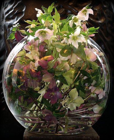 Flower Decorations Home Decor Flower Decorations And Containers Glass Vases Beautiful Flower