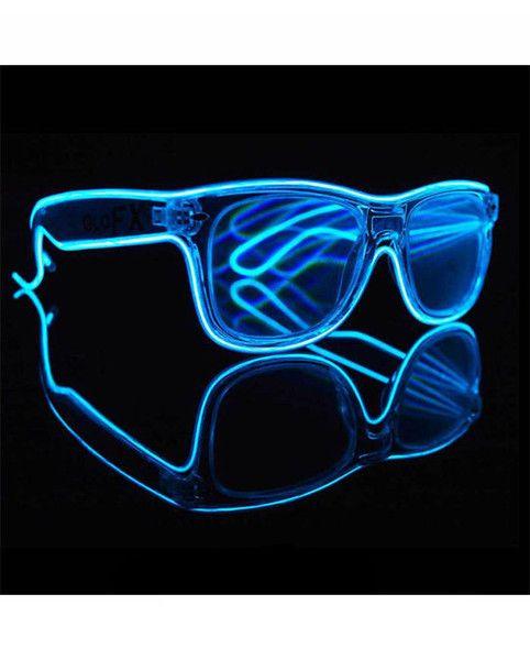GloFX - Customizable Wayfarer Luminescence Diffraction Glasses