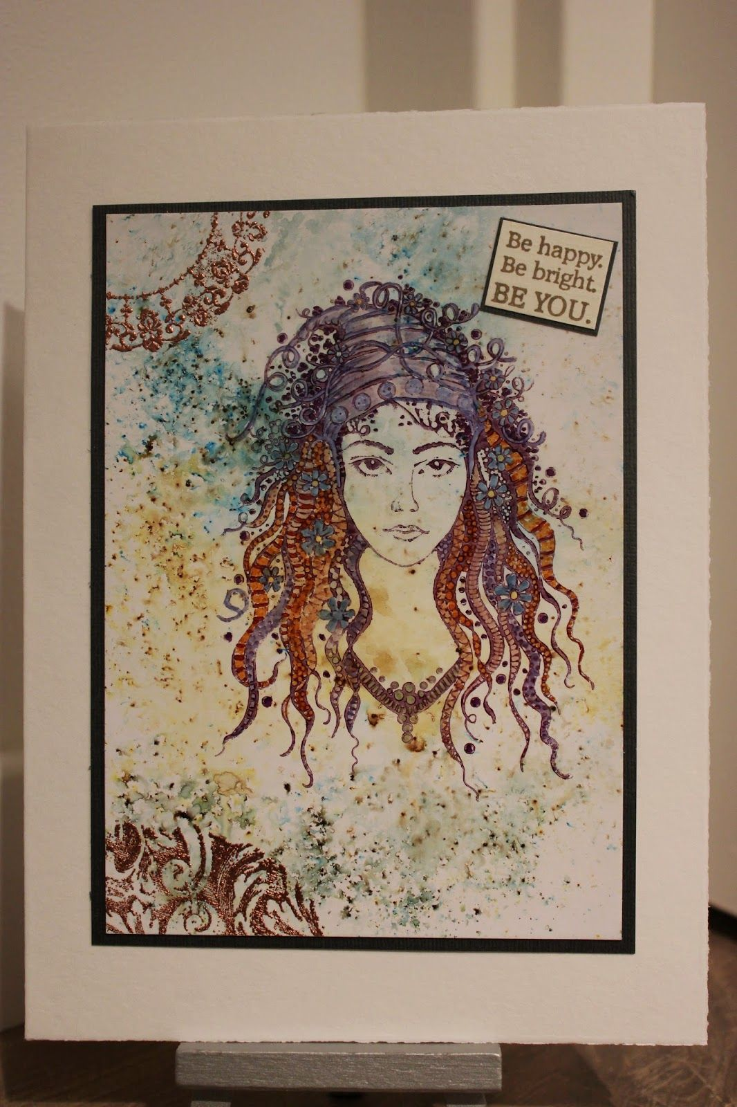 Gypsy Girl gemaakt door Marielle