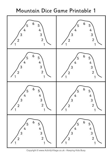 Pin By Sarah Chodorow On School Dice Games Games For Kids Mountain Math