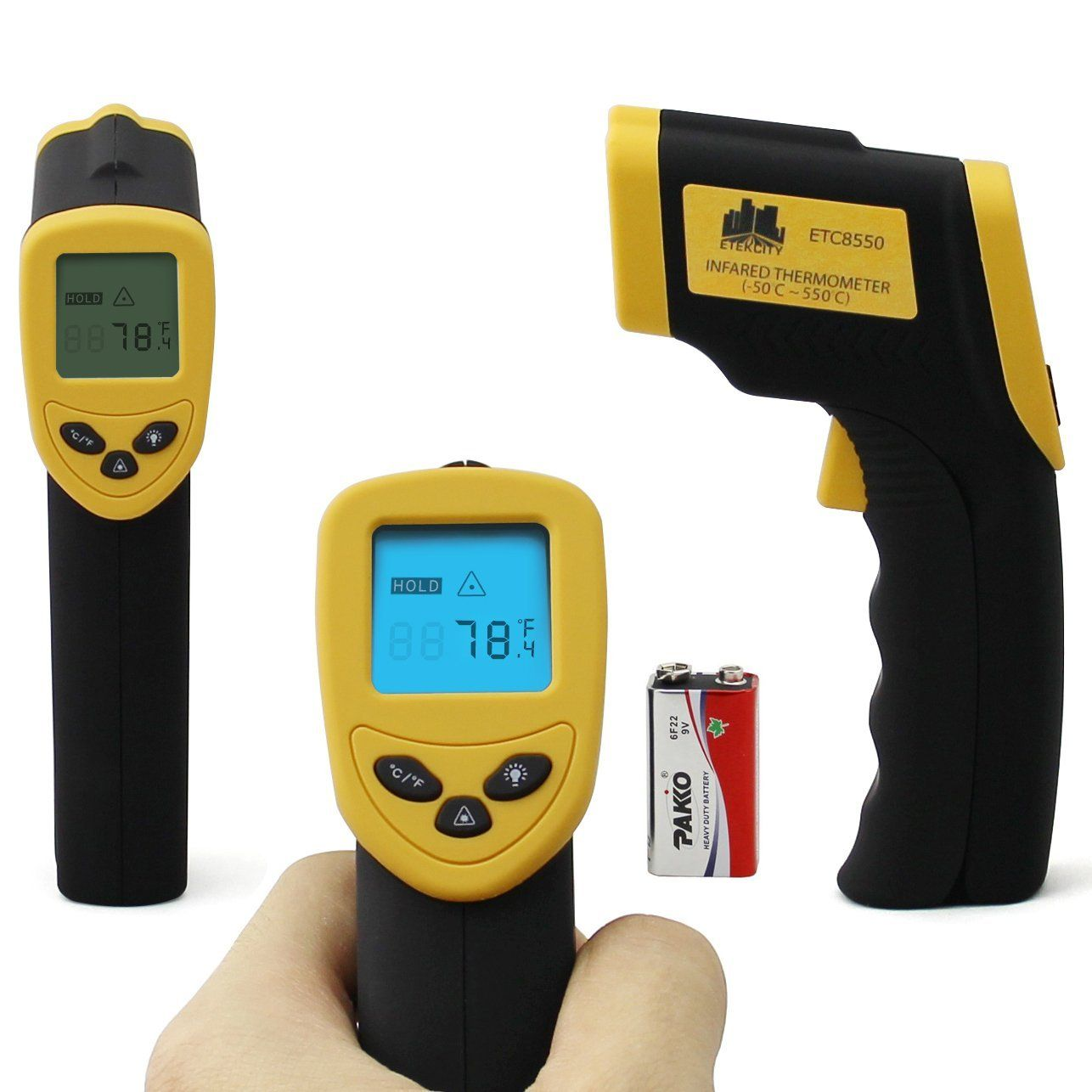 Etekcity Non-Contact Infrared Thermometer Digital