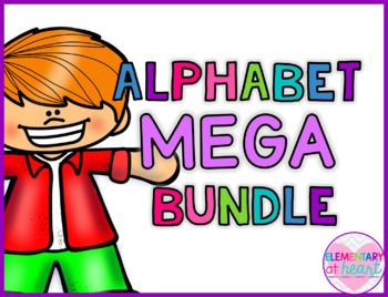 Save a  BUNDLE  with this bundle!This MEGA bundle includes 7 of my Alphabet Products:Included in the bundle:Click here for Alphabet Beginning Sounds Worksheets by Elementary at HEARTClick here for Alphabet Letter Sort by Elementary at HEARTClick here for Beginning Sounds Identification Coloring by Elementary at HEARTClick here for Alphabet Letter Puzzles by Elementary at HEARTClick here for Alphabet Flip Books by Elementary at HEARTClick here for Beginning Sounds Bingo by Elementary at…