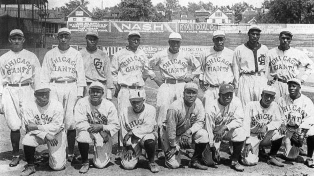 the negro baseball league