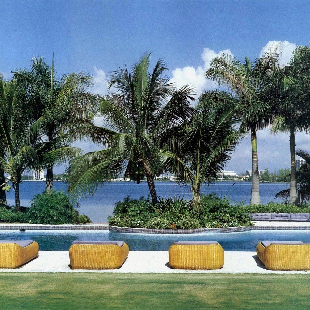 Look Inside Julio Iglesias S House In Miami Beach Architectural Digest Terrazas Jardines