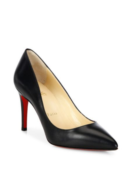 d07cff8f6e2 Christian Louboutin - Pigalle 85 Nappa Shiny Leather Pumps | S in ...