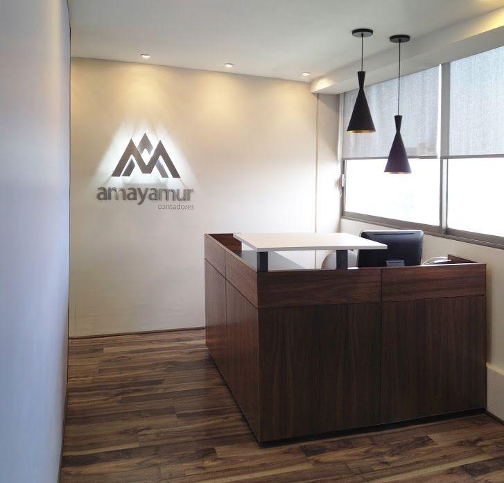 Oficinas, remodelación, frontdesk, receptionist, recepción