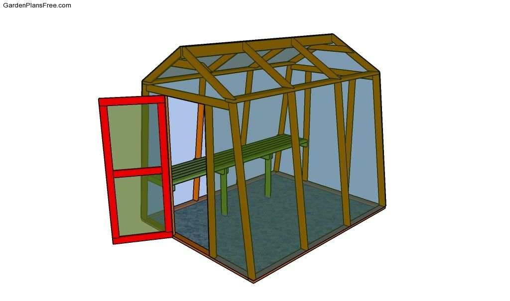 Leanto Greenhouse Plans Free Garden Plans How to