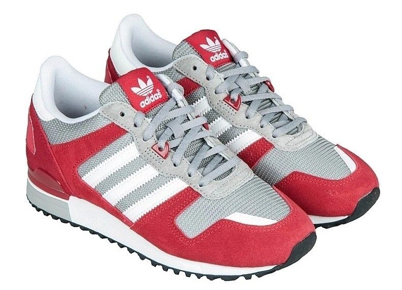 Women Adidas ZX 700 Trainers D65281 Blue Red Black {6ANJ6} 1 | Promotional  shoes | Pinterest | Adidas ZX