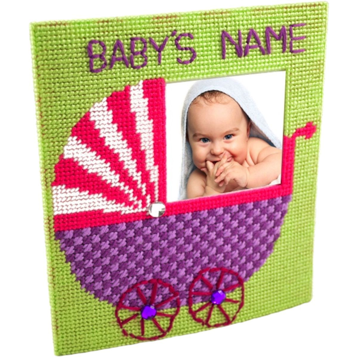 The Nanny Framous Plastic Canvas Kit 77x67 10 Count Products
