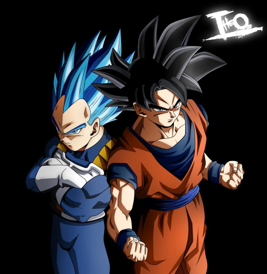 Goku And Vegeta, Tremble Gods Of Destruction! (?) By