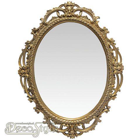 Fl53 spiegel barok goud badkamer pinterest divergent for Barok spiegel