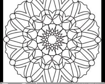 Fleur de Rose imprimable coloriage pour adultes PDF JPG