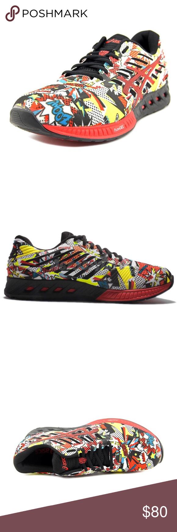 ASICS FuzeX Comic Edition Running Shoes Brand Asics Size