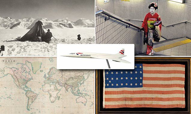 Incredibly rare items to go under the hammer at travel-themed auction