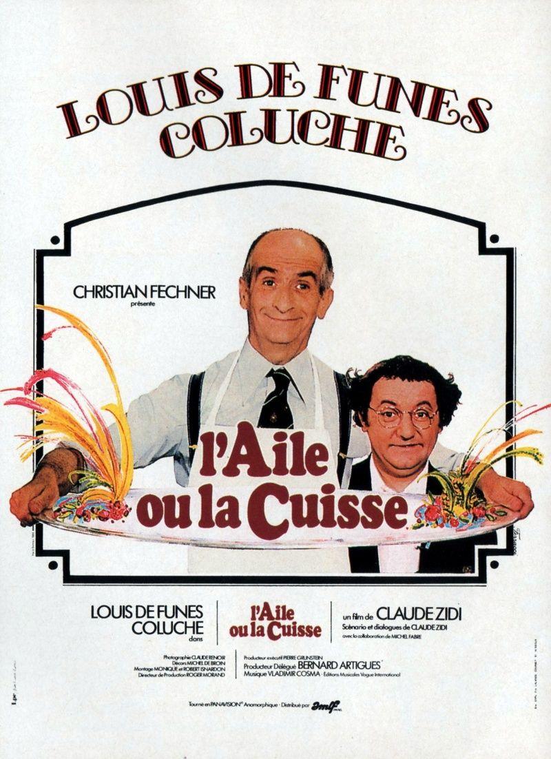 Postery Krylyshko Ili Nozhka De Funes Coluche Louis De Funes Film