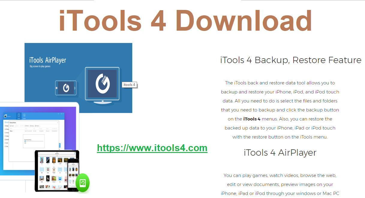iTools 4 is the best file transferring tool for your