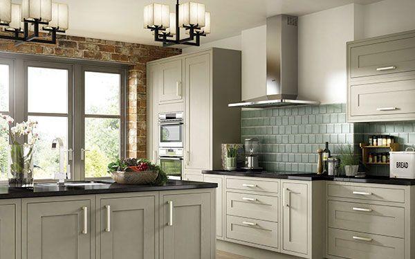 Benchmarx borrowdale kitchen in olive green kitchen - Olive green kitchen ideas ...