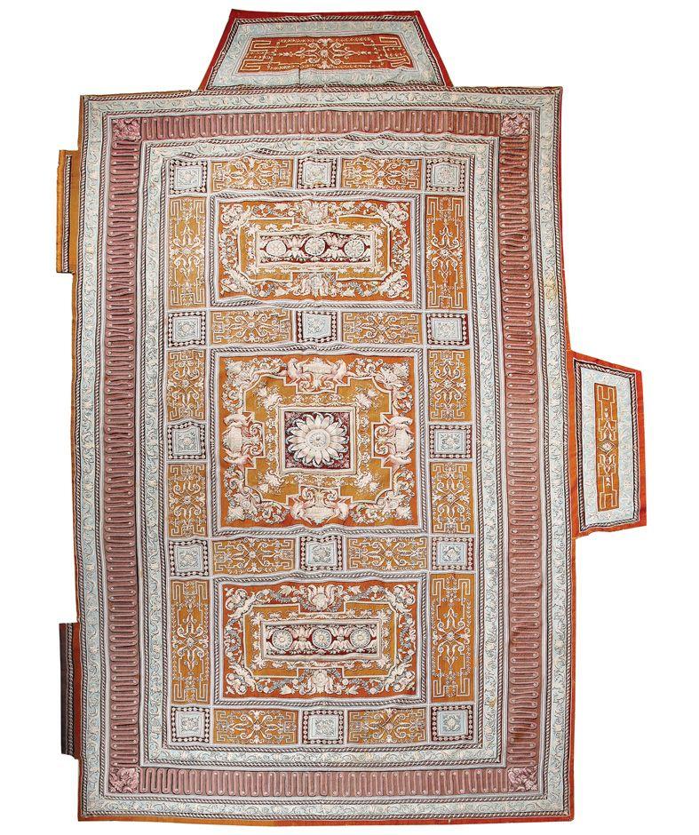 Alfombra real f brica de tapices de madrid vicente g mez dise o 1788 1792 tapiz en lana y seda - Fabricantes de alfombras ...