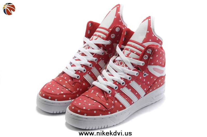 Girl Adidas X Jeremy Scott Big Tongue Chaussures Rain Rouge Nike KD VI