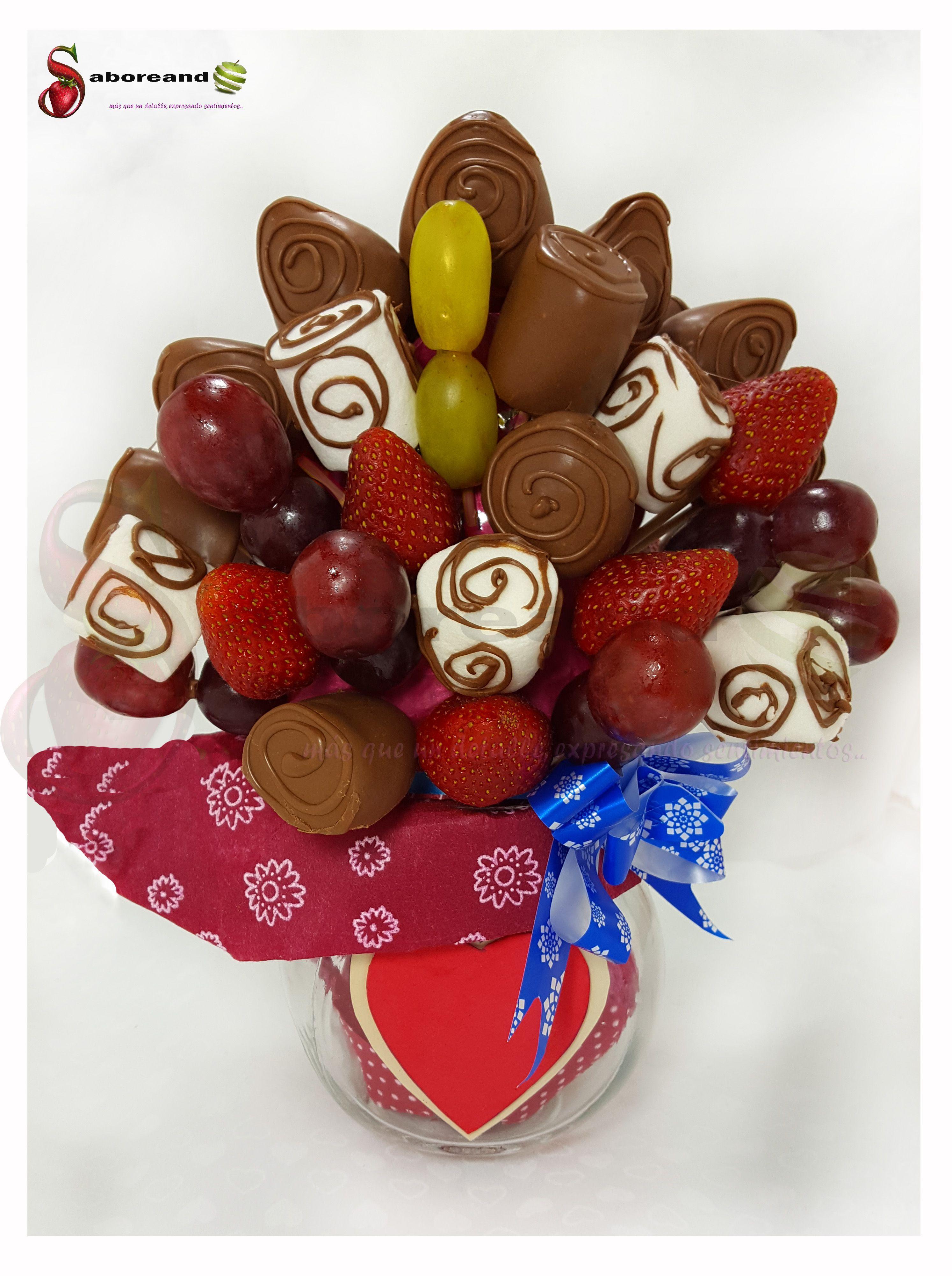 Arreglos Frutales Flores Chocolates Trufas Brigadeiros Desayunos Pop Cakes Arreglos Frutales Arreglos Frutales Comestibles Ramos De Fresas Con Chocolate