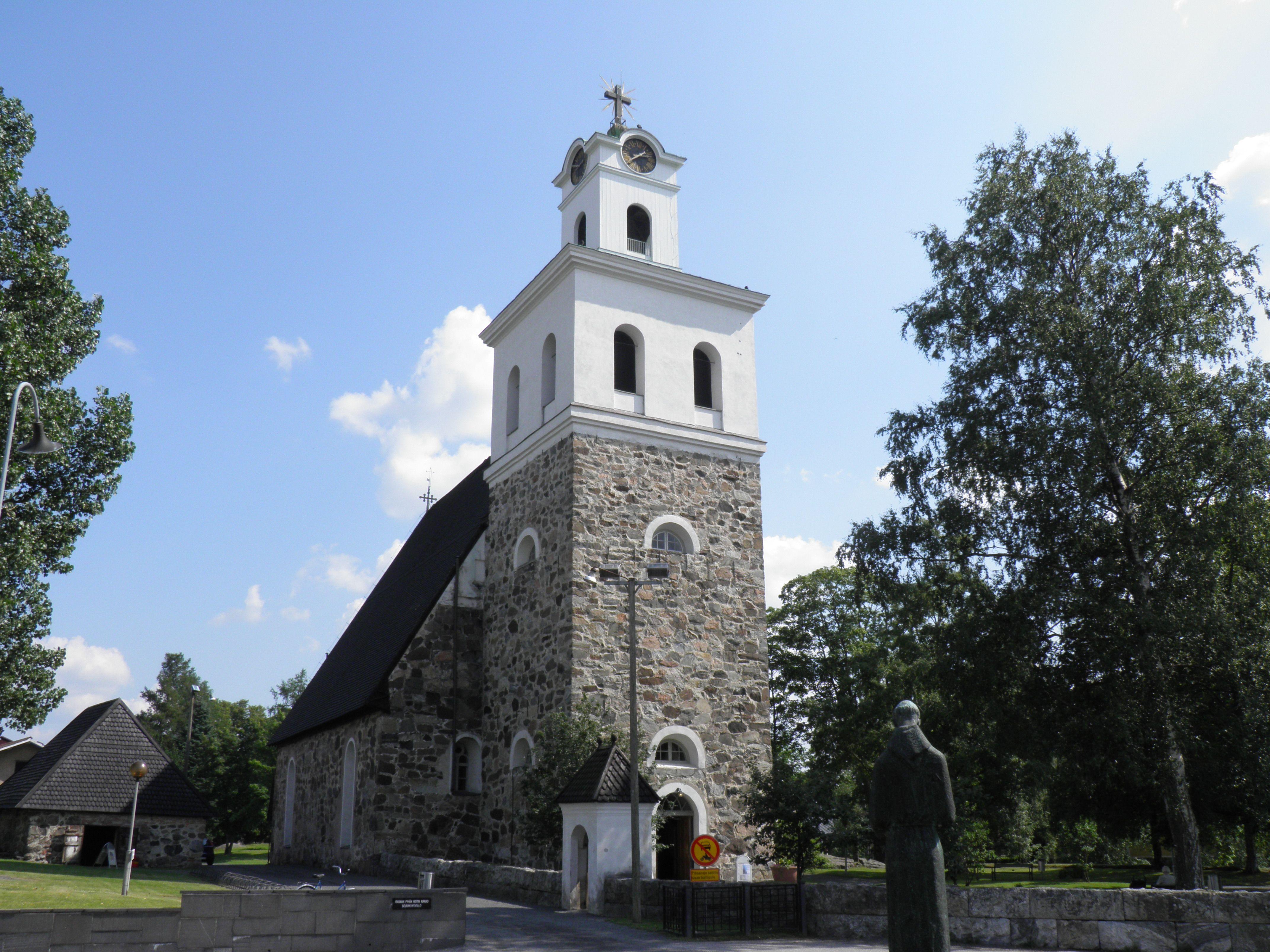 Rauman kirkko, Suomi Finland