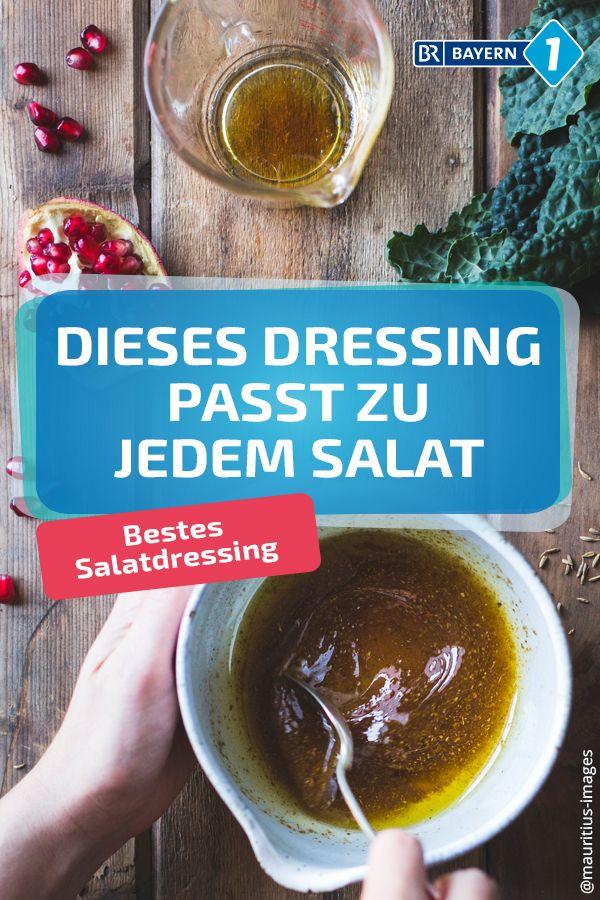 Salatdressing Mit diesem Dressing schmeckt jeder Salat