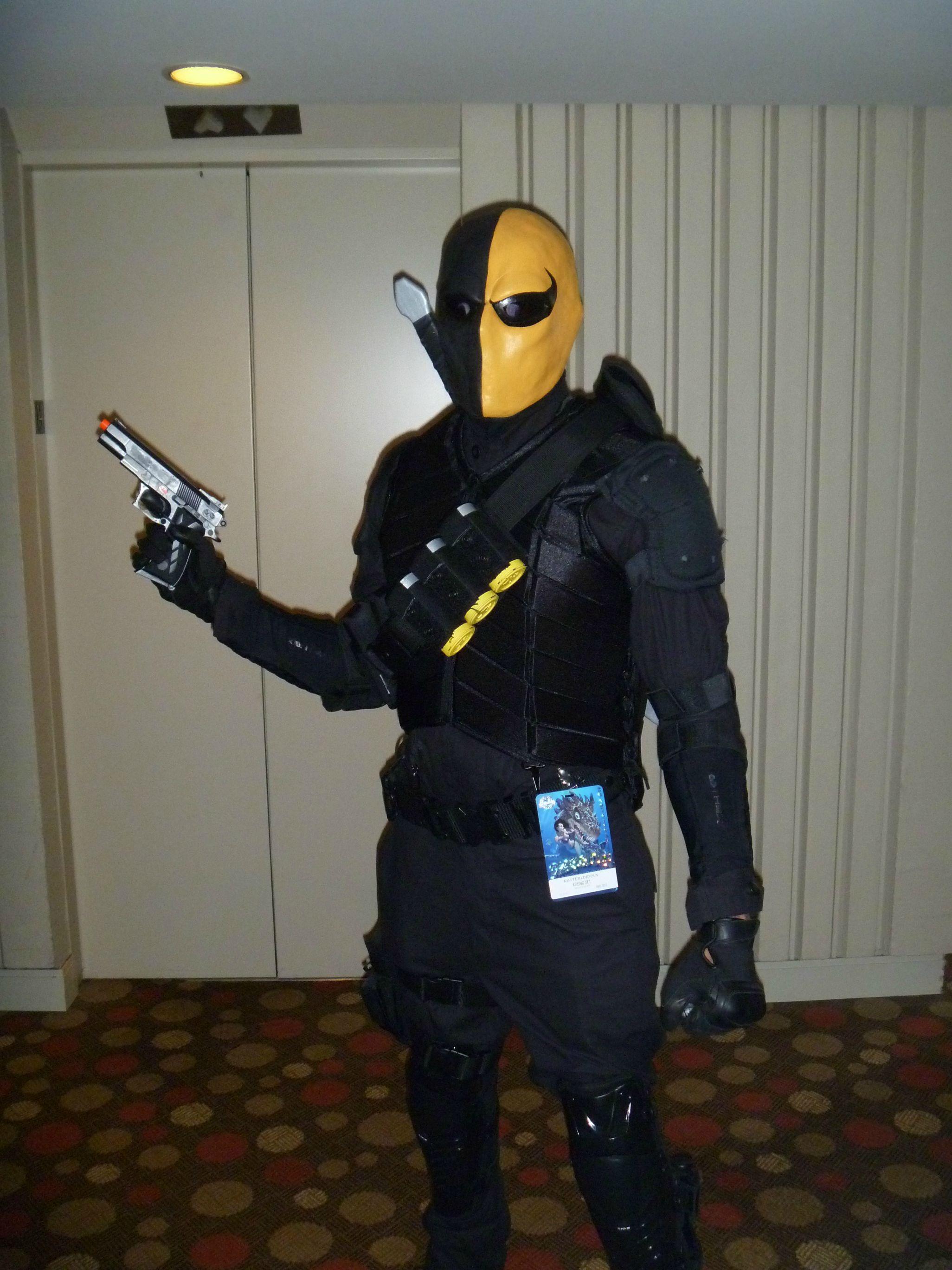 detail of Deathstroke costume | RPG related | Pinterest ...