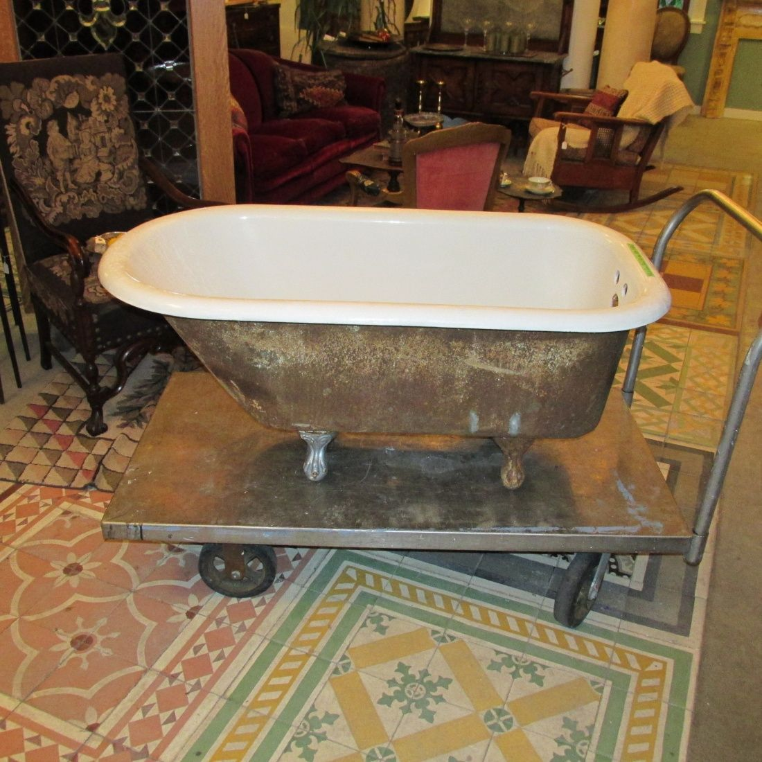 Crane 4-1/2′ Claw Foot Tub | Ohmega Salvage | DIY Bath | Pinterest ...