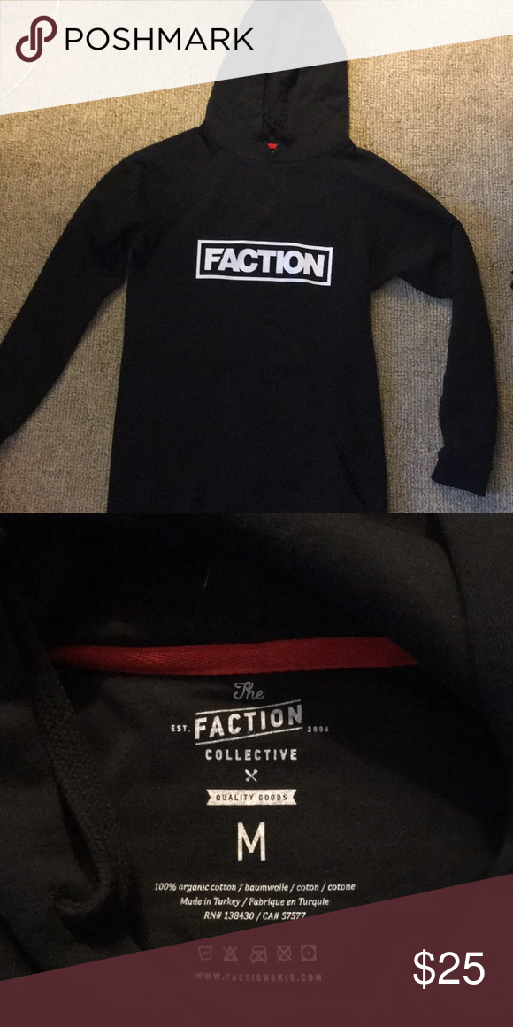 64ad35e4 The faction collective tall logo hoodie Tall hoodie, never worn but missing  packaging and tags. Faction skis. Shirts Sweatshirts & Hoodies
