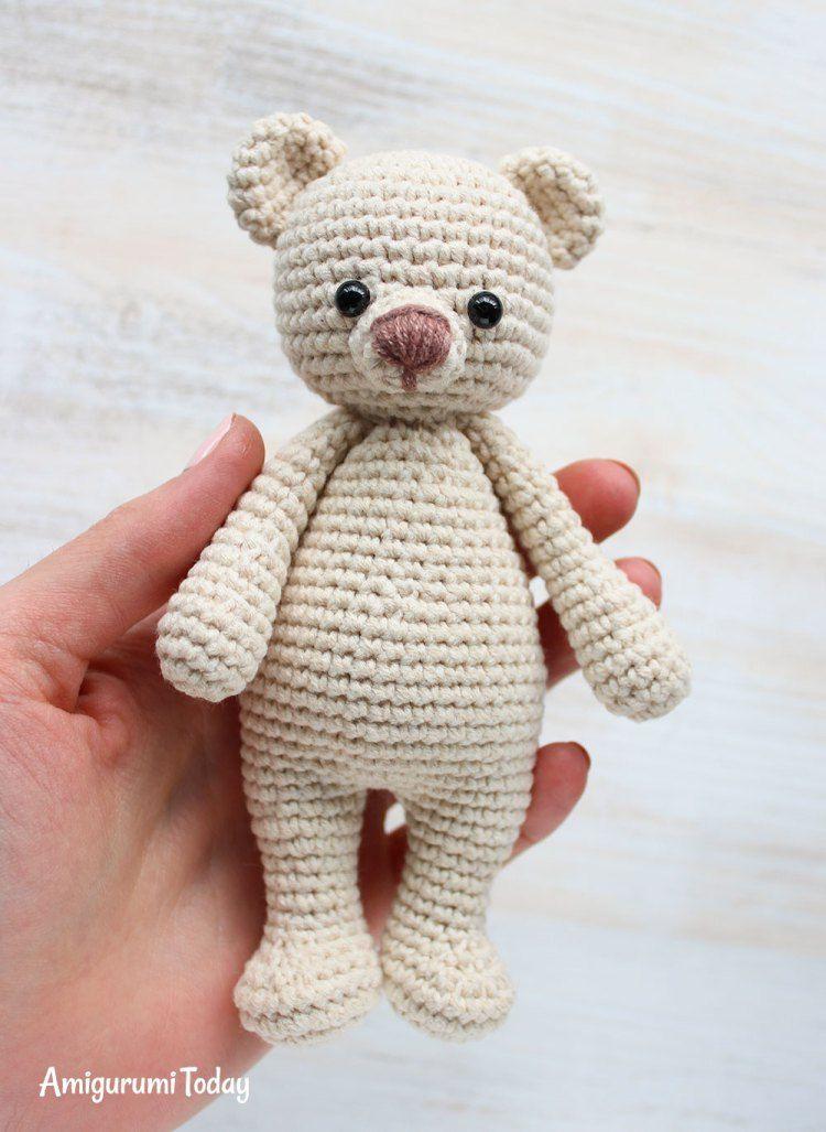Cuddle Me Bear amigurumi pattern | Crochet Babies | Crochet, Crochet ...