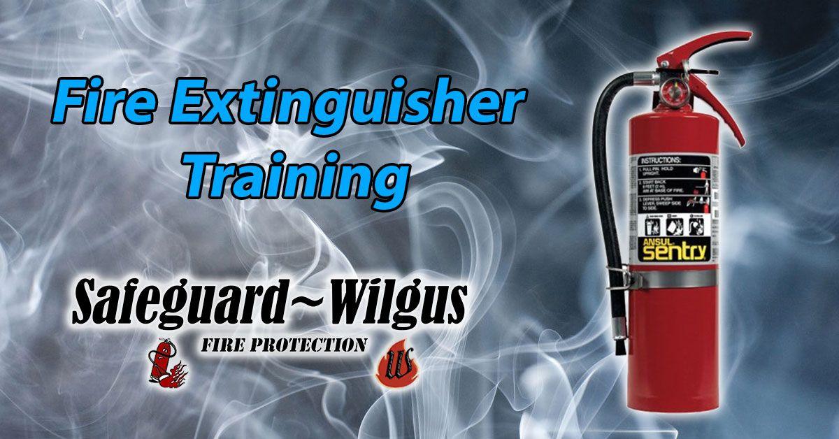 Fire Extinguisher Training Fire extinguisher training