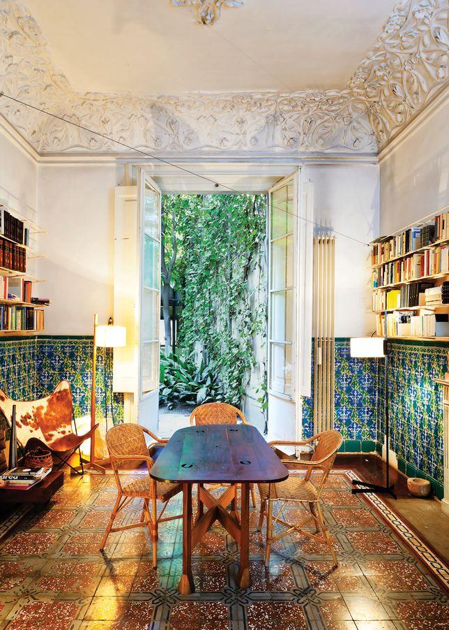 einrichtungsinspirationen ein haus in barcelona aus dem 18 jahrhundert wohnen pinterest. Black Bedroom Furniture Sets. Home Design Ideas