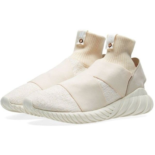 the latest ec9b5 0c76b Adidas Consortium x Overkill x Fruition Tubular Elastic W (199) ❤ liked on  Polyvore featuring shoes, wrap shoes, elastic shoes, tweed shoes, ...