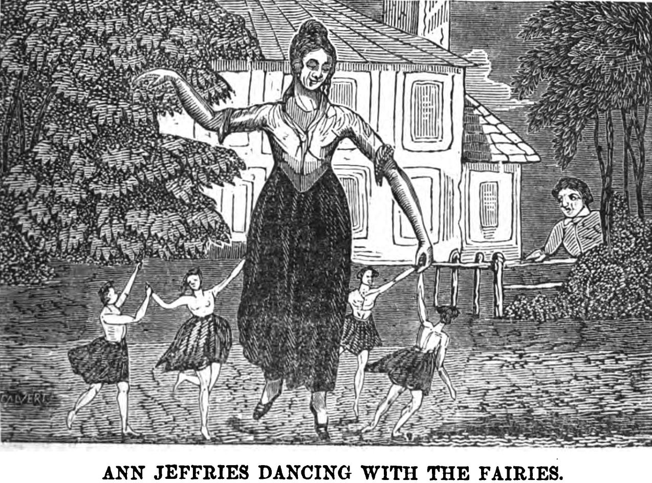 The Faerie Abduction Of Anne Jefferies